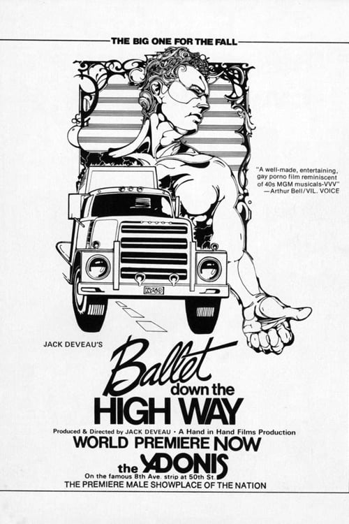 Ver Ballet Down the Highway Online HD Español (1975)