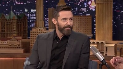 The Tonight Show Starring Jimmy Fallon Season 1 :Episode 63  Hugh Jackman, Jimmy Page, Barry Gibb, the winner of The Voice