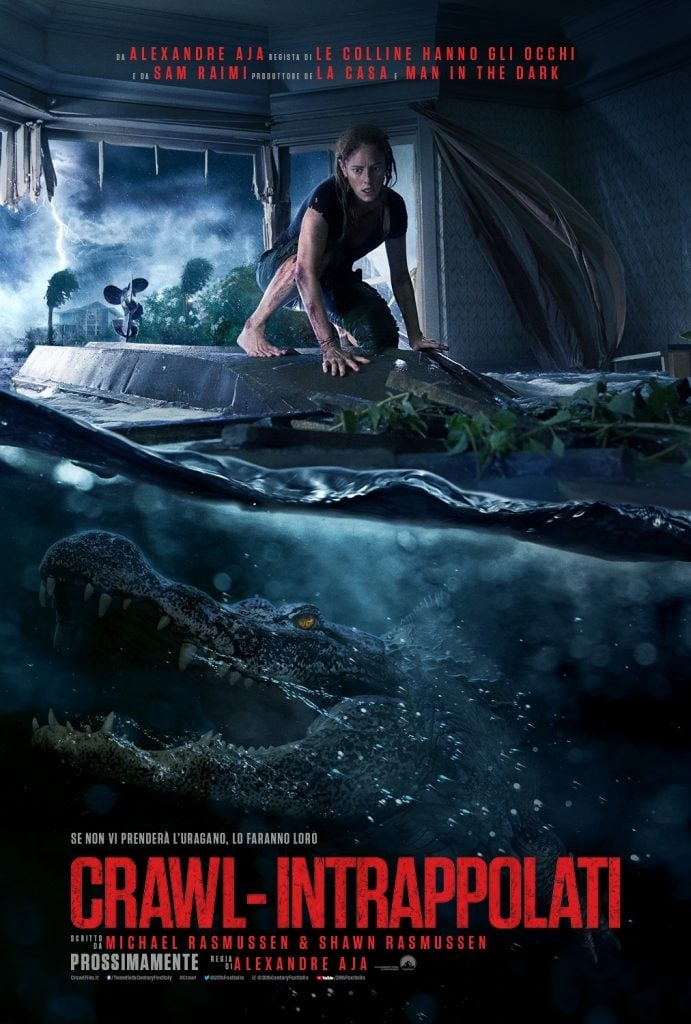 Poster and image movie Film Crawl 2019