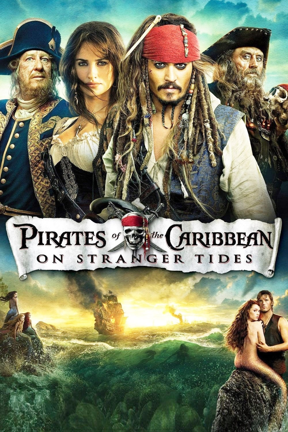 Pirates Of The Caribbean On Stranger Tides 2011 Posters The Movie Database Tmdb