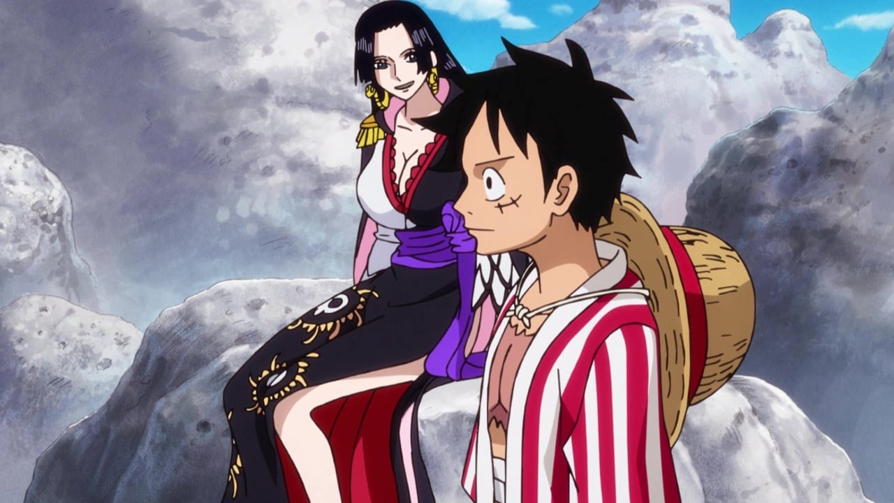 One Piece Season 21 :Episode 897  Save Otama! Straw Hat, Bounding through the Wasteland!