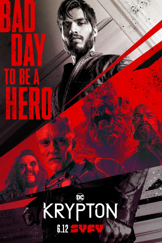 Krypton 2ª Temporada poster, capa, cartaz