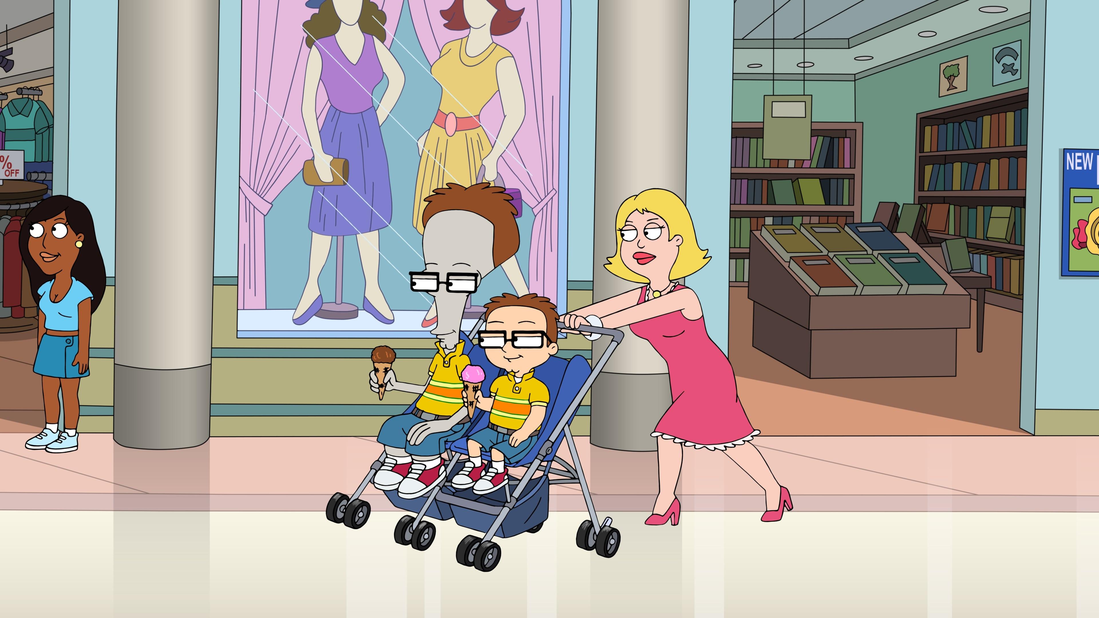 American Dad! Season 15 :Episode 17  Twinanigans
