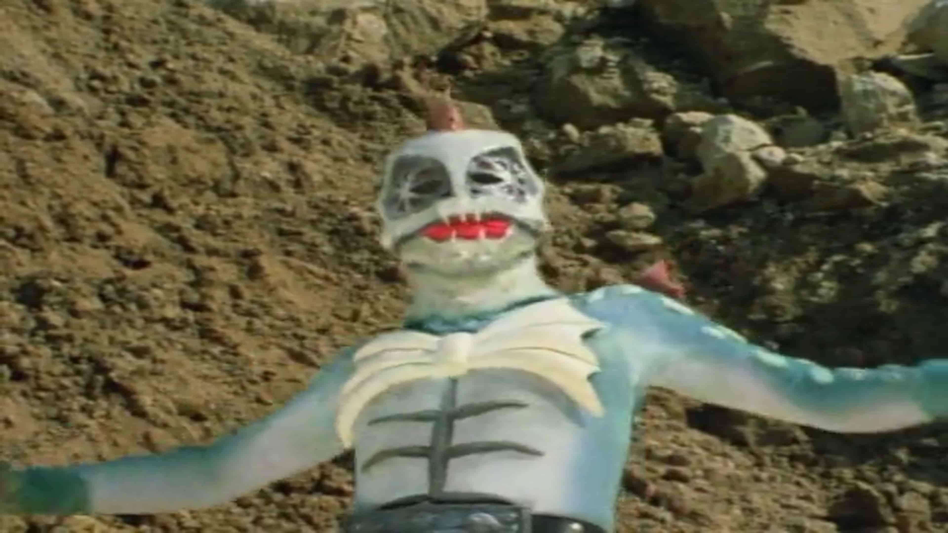 Kamen Rider Season 1 :Episode 16  Wrestler of the Devil, Pirasaurus