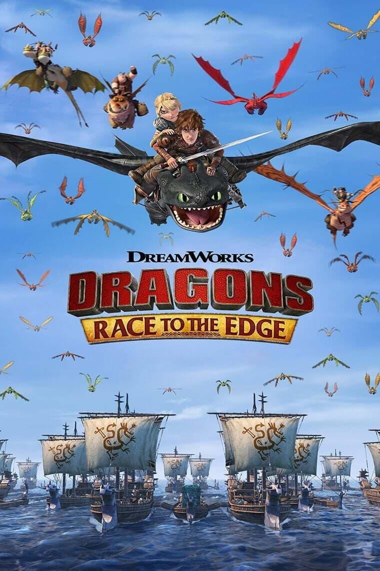 Dragons: Race to the Edge TV Shows About Computer