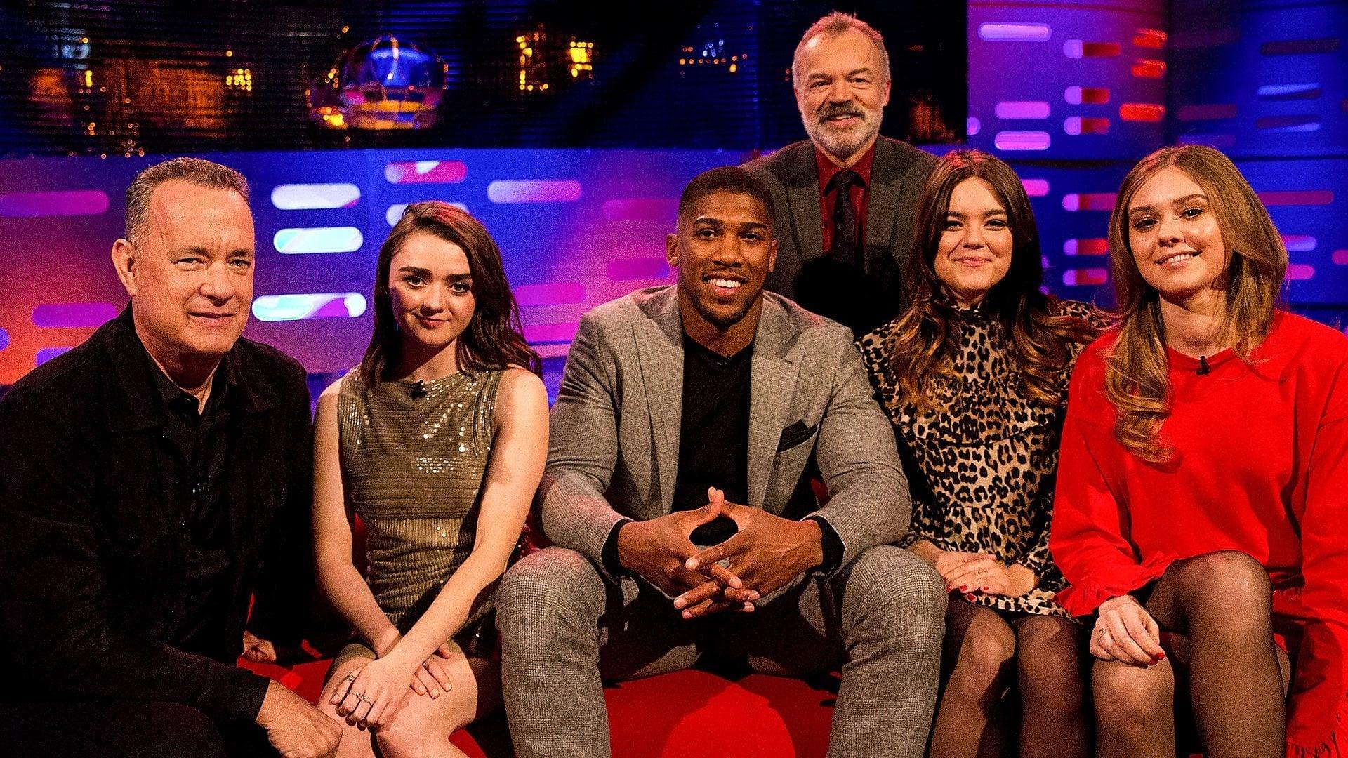 The Graham Norton Show Season 22 :Episode 13  Anthony Joshua, Tom Hanks, Maisie Williams, First Aid Kit