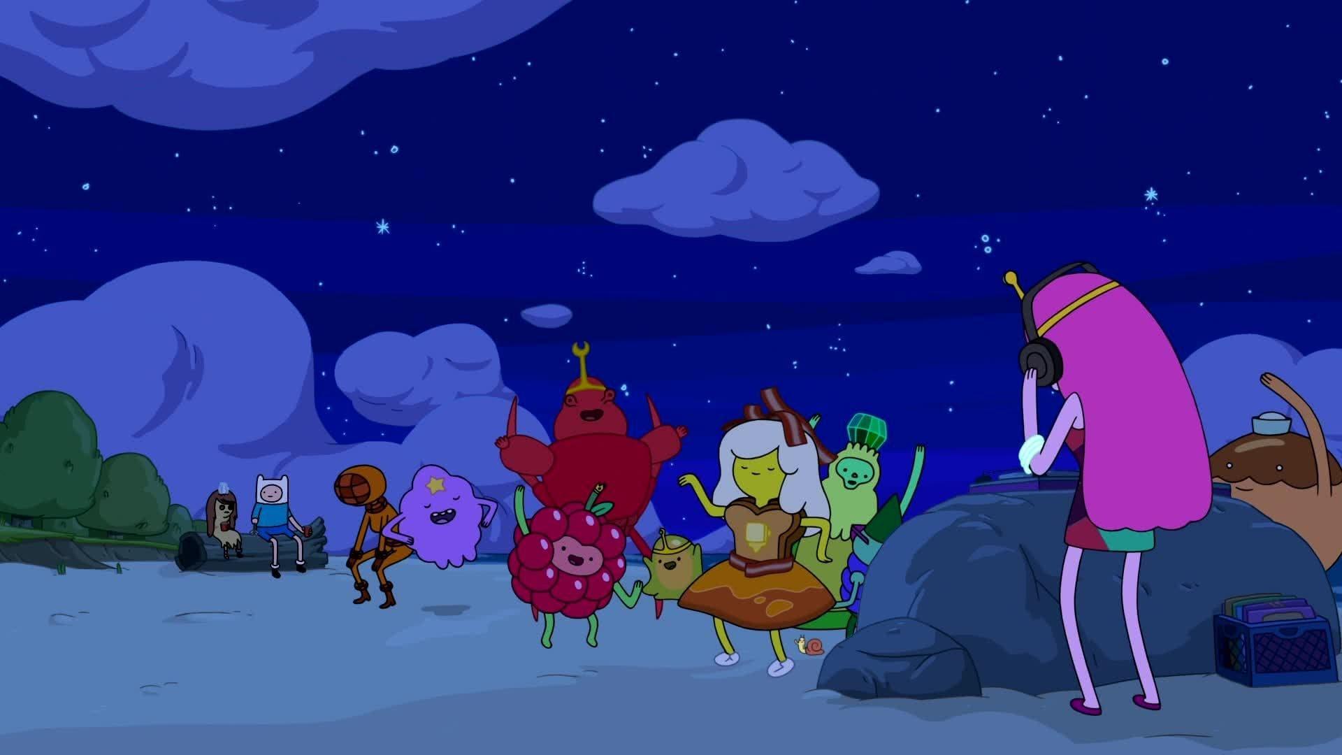 Adventure Time - T6E06 - Breezy [Sub  Español] - HardSubCafe