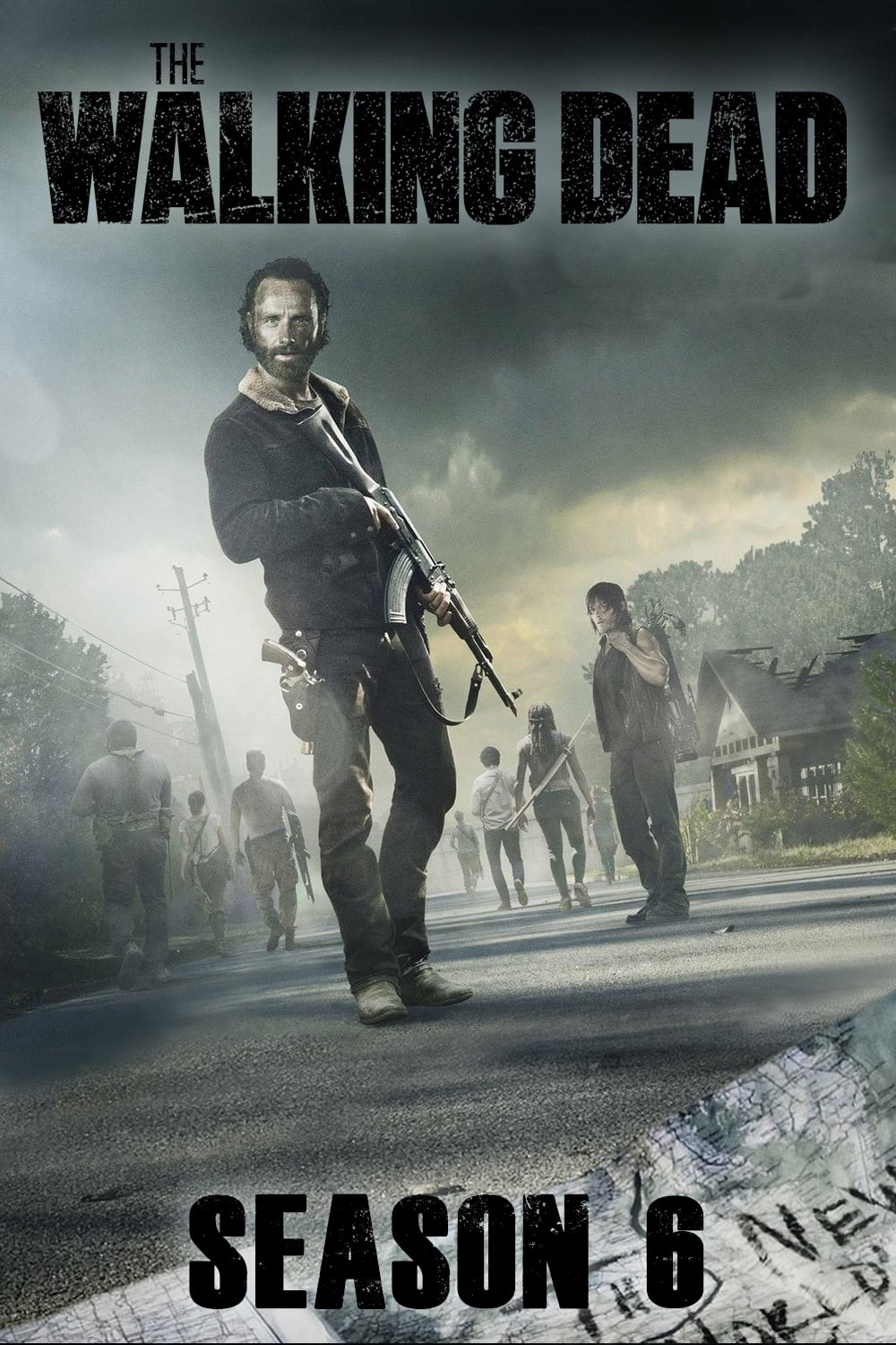 The Walking Dead (2015) [Temporada 6] [Completa] [Latino] [1 Link] [MEGA]
