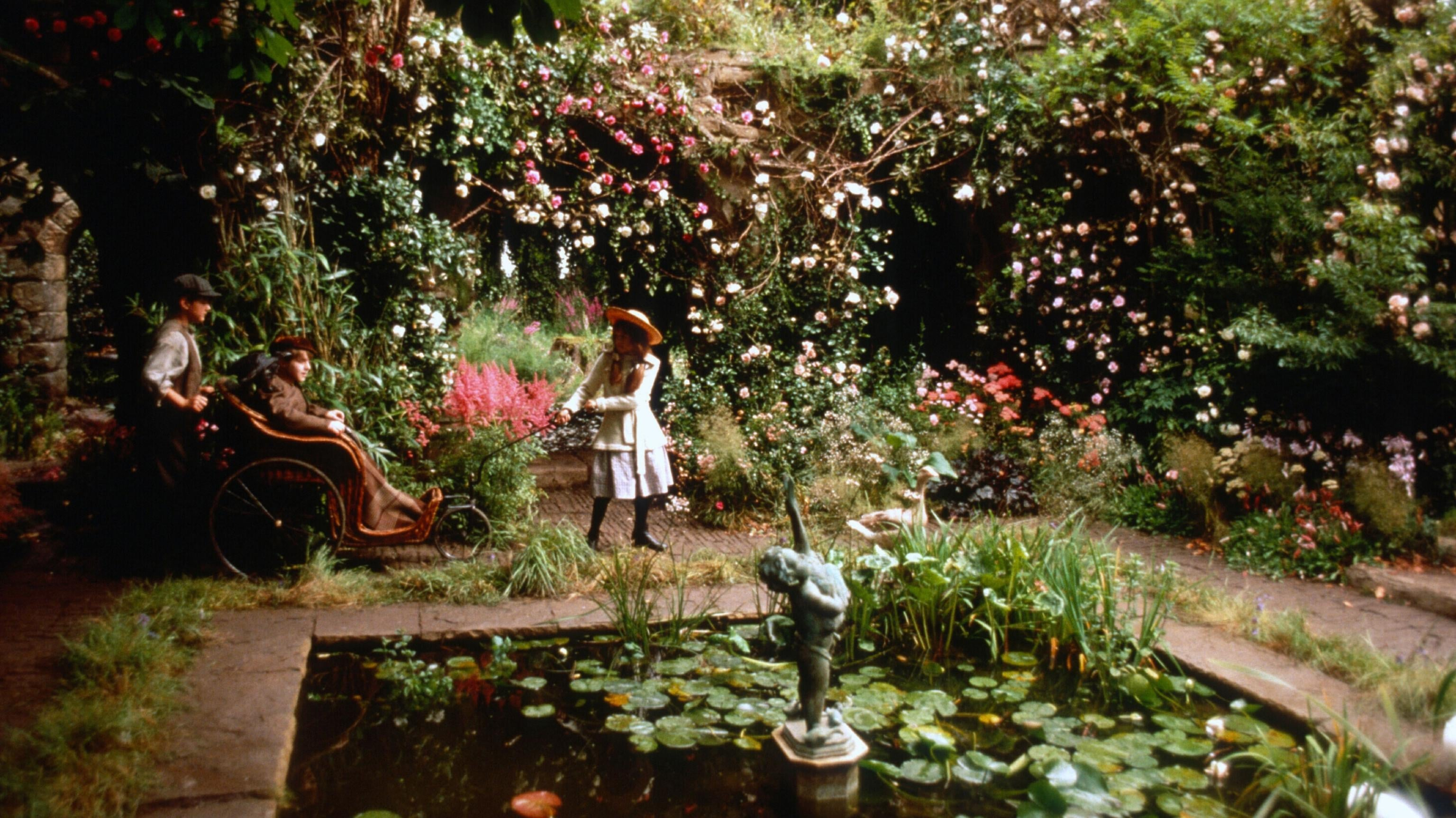The secret garden 1993 the movie for Anahy jardin secret