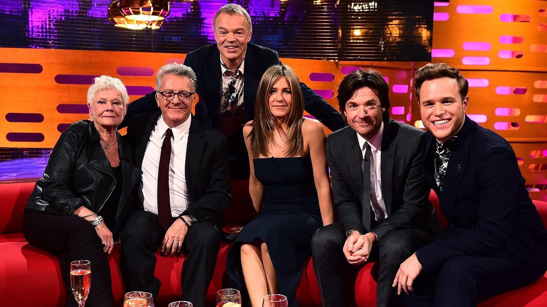 The Graham Norton Show Season 16 :Episode 8  Jennifer Aniston, Jason Bateman, Dame Judi Dench, Dustin Hoffman, Olly Murs