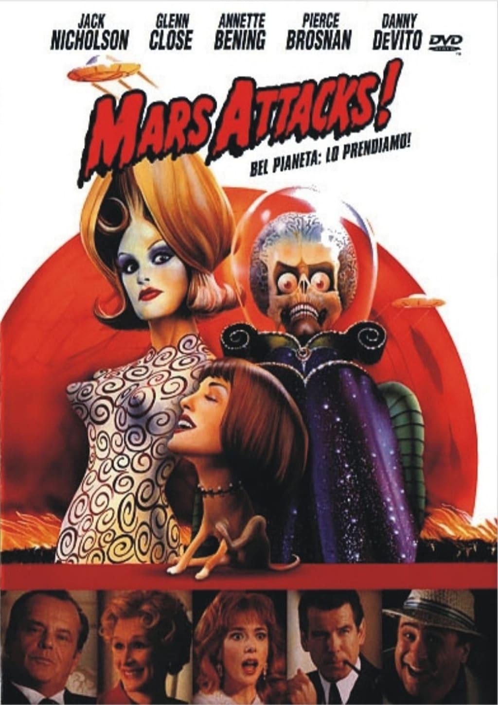 Mars Attacks! (1996) - Posters — The Movie Database (TMDb)
