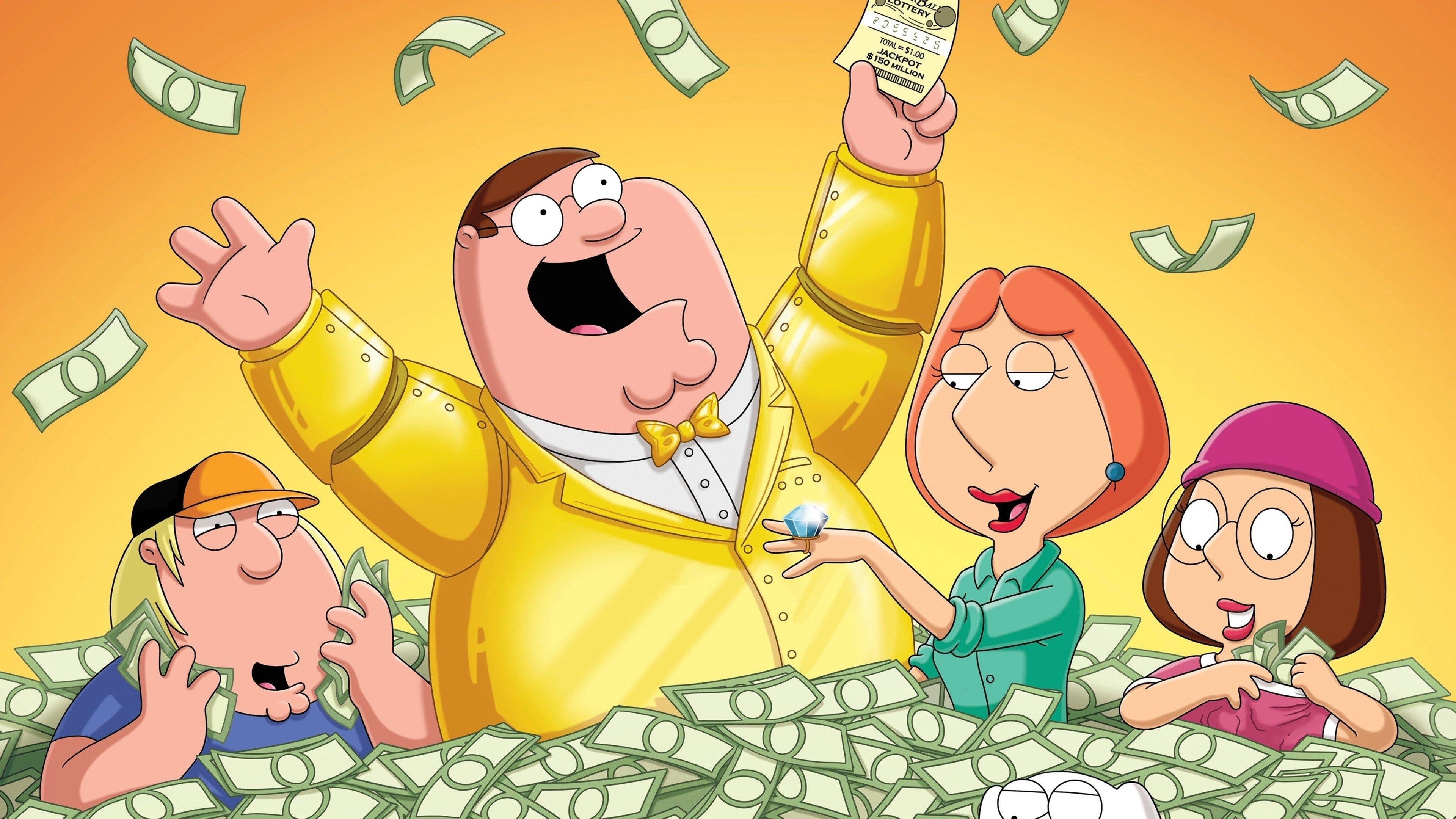 Family Guy Season 10 :Episode 1  Lottery Fever