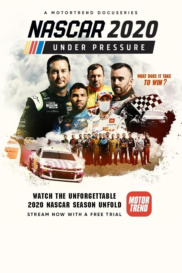 NASCAR 2020: Under Pressure TV Shows About Sports