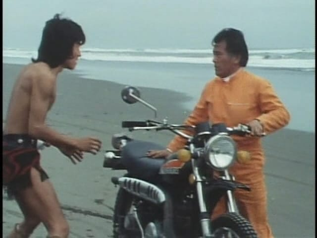 Kamen Rider Season 4 :Episode 3  The Strong, Naked, Fast Guy!