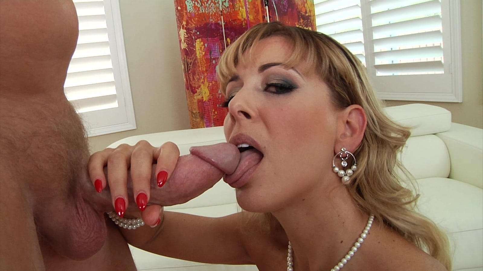 Watch super blowjob german milf