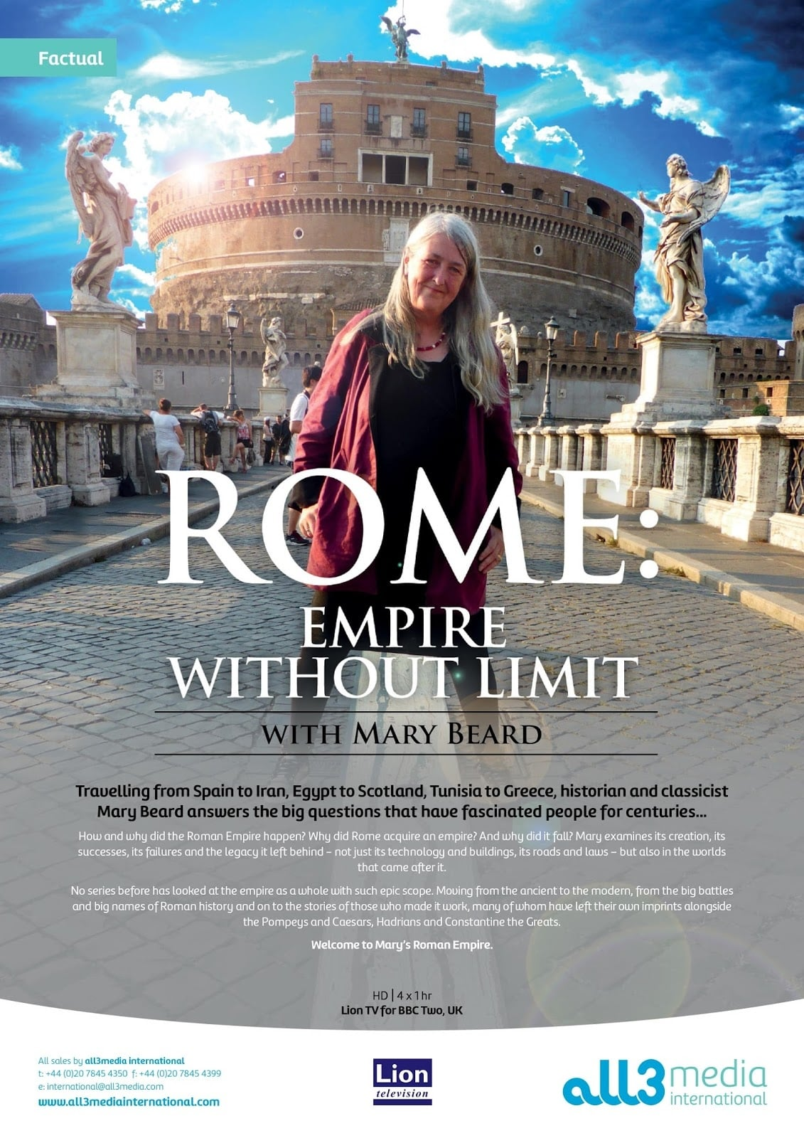 Mary Beard's Ultimate Rome: Empire Without Limit (2016)