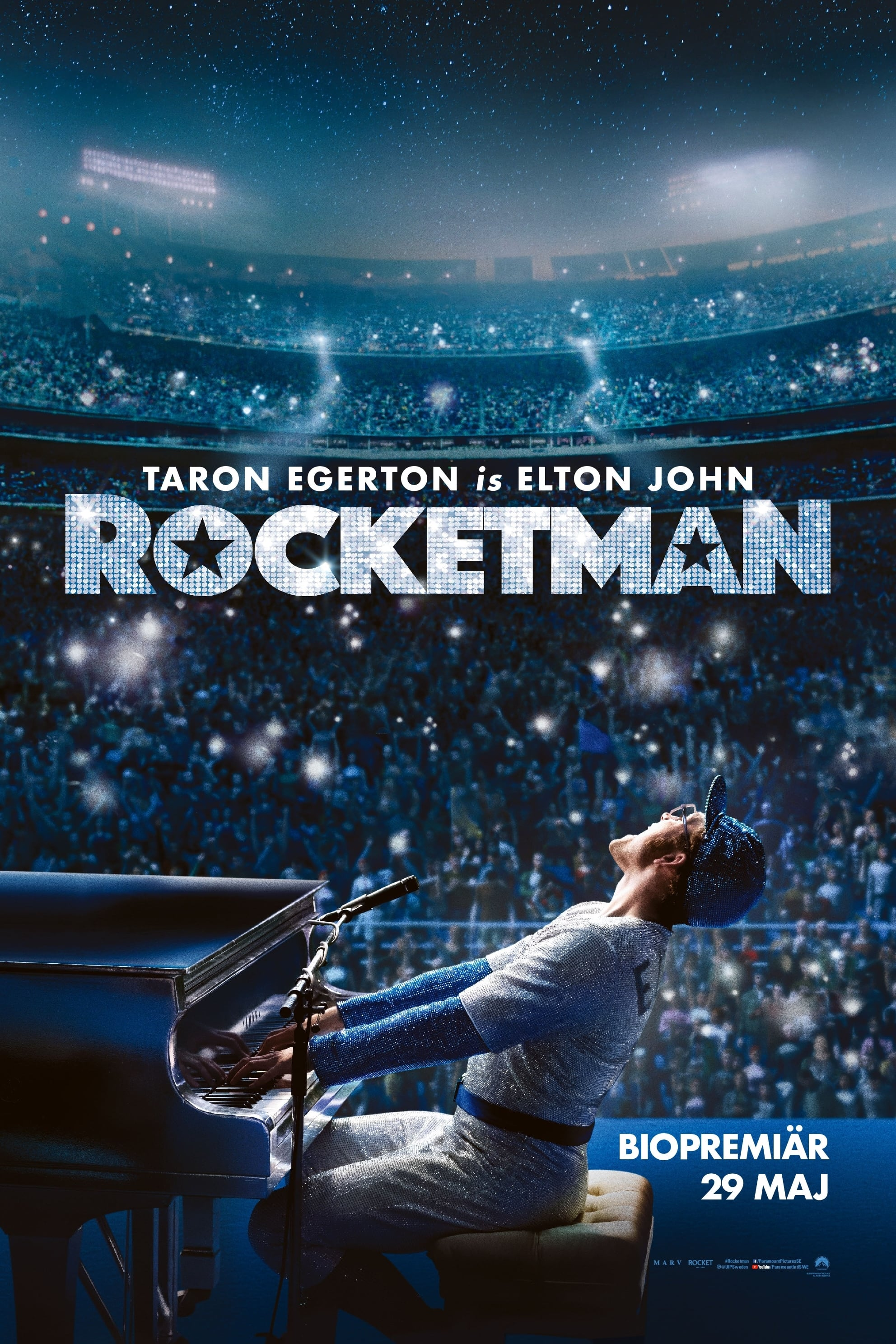 Poster and image movie Film Rocketman 2019