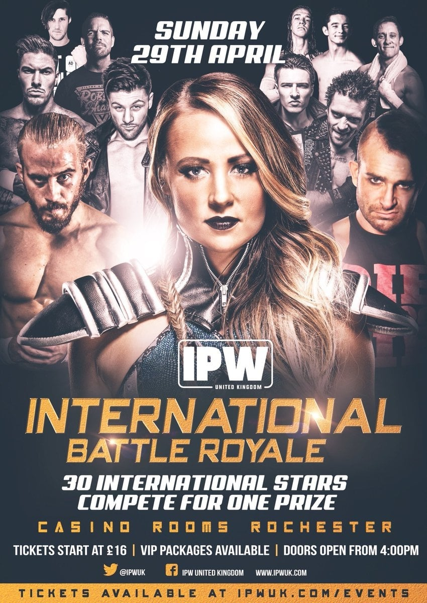 Ver IPW:UK International Battle Royale Online HD Español ()