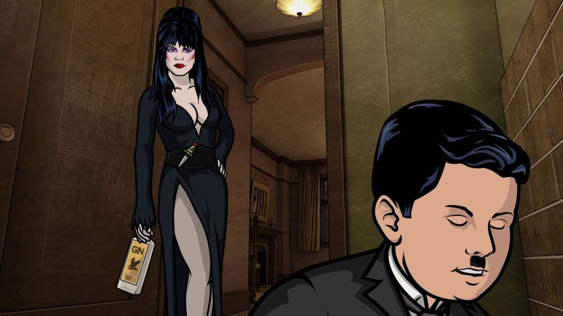 Archer Season 2 :Episode 11  Jeu Monegasque