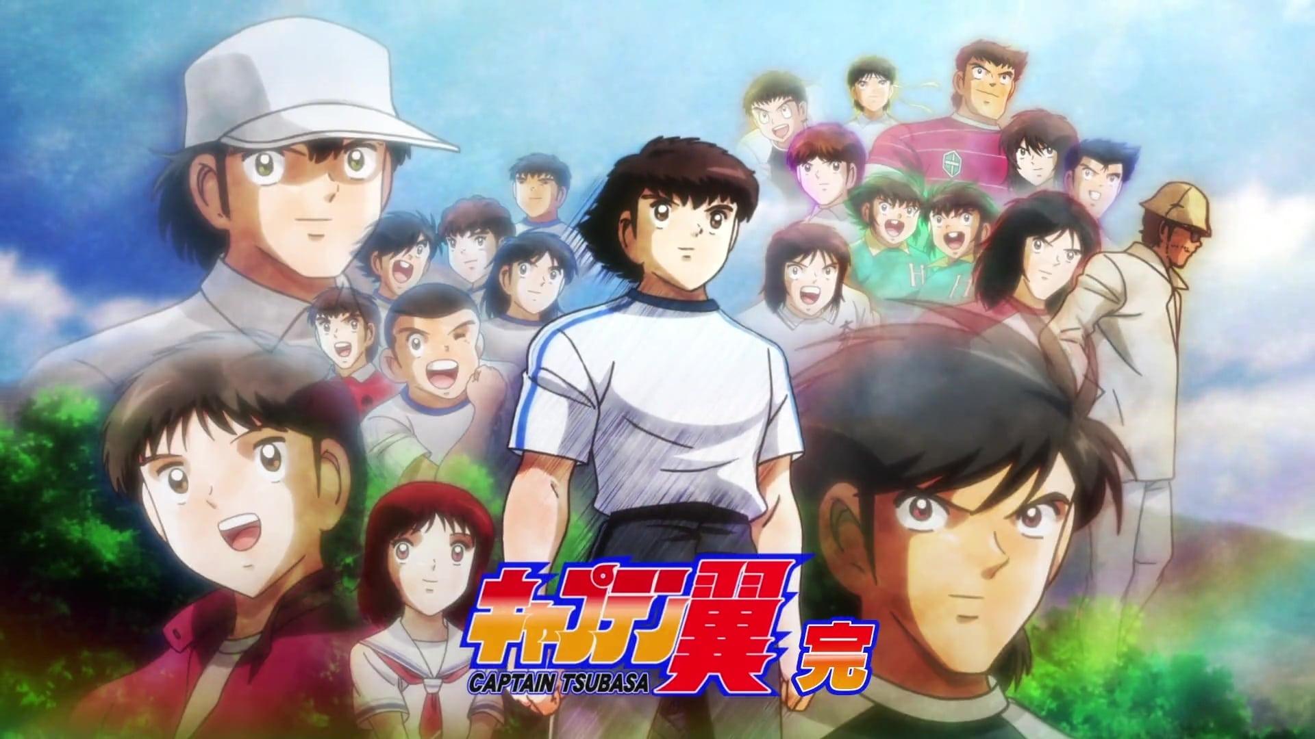 Anime 4k Wallpaper: Streaming Captain Tsubasa: S1