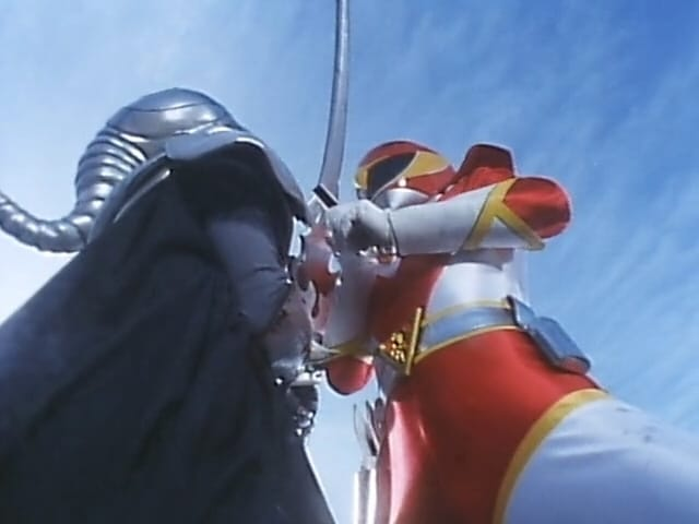 Super Sentai Season 15 :Episode 50  Respective Battles to the Death