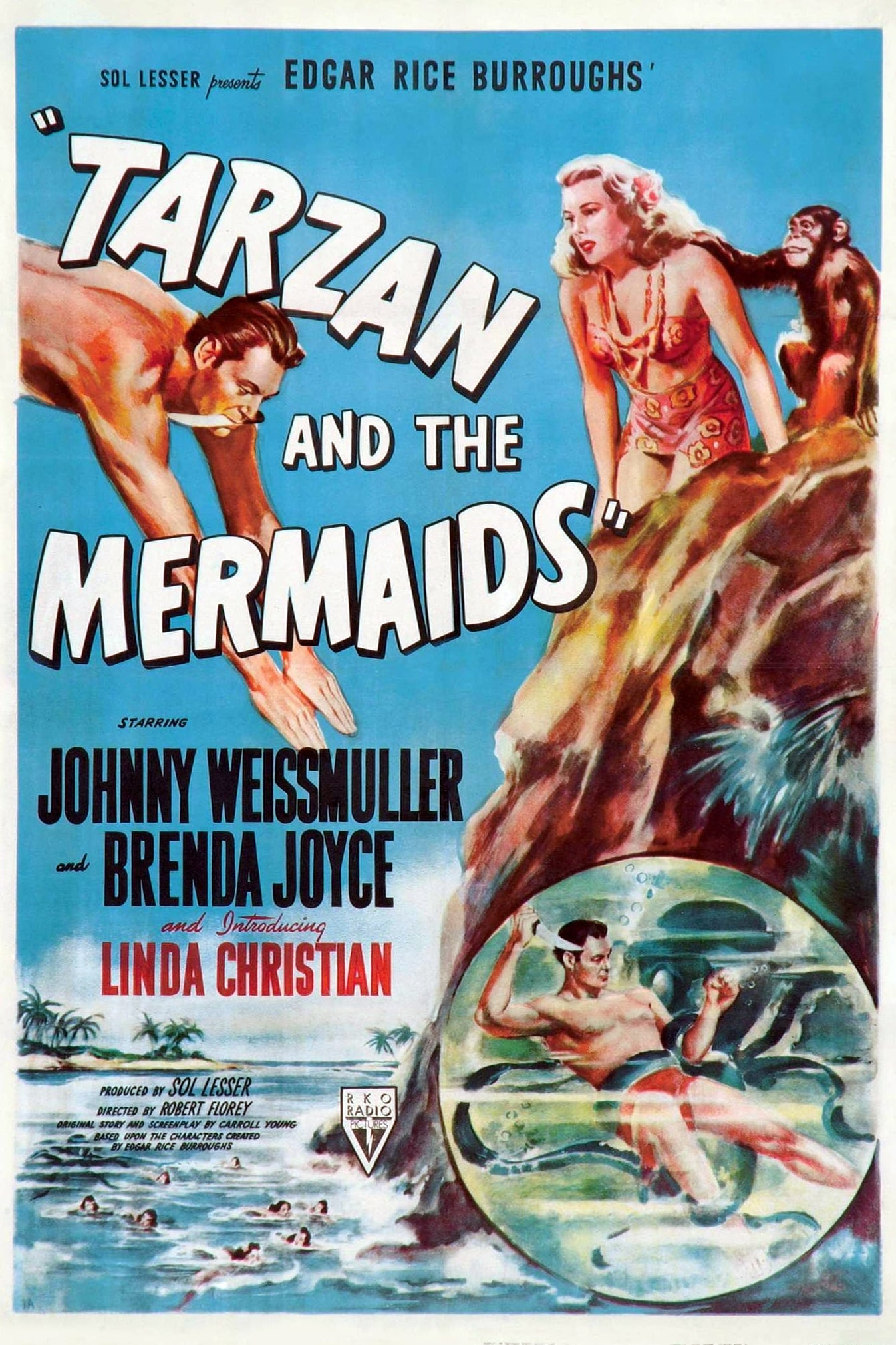 Tarzan and the Mermaids (1948)