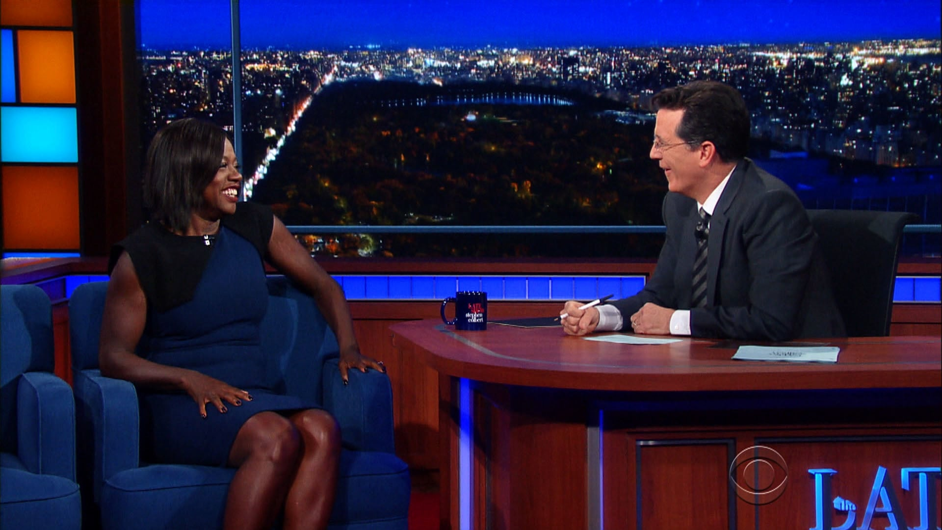 The Late Show with Stephen Colbert Season 1 :Episode 42  Viola Davis, Brian Greene, George Ezra