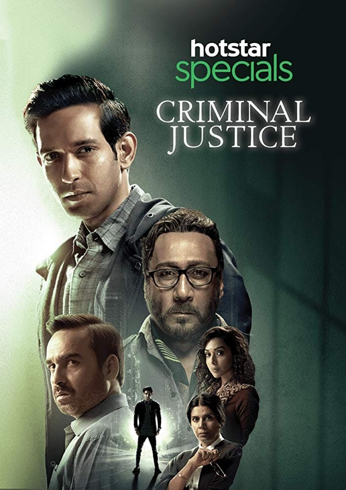 Criminal Justice (2019)