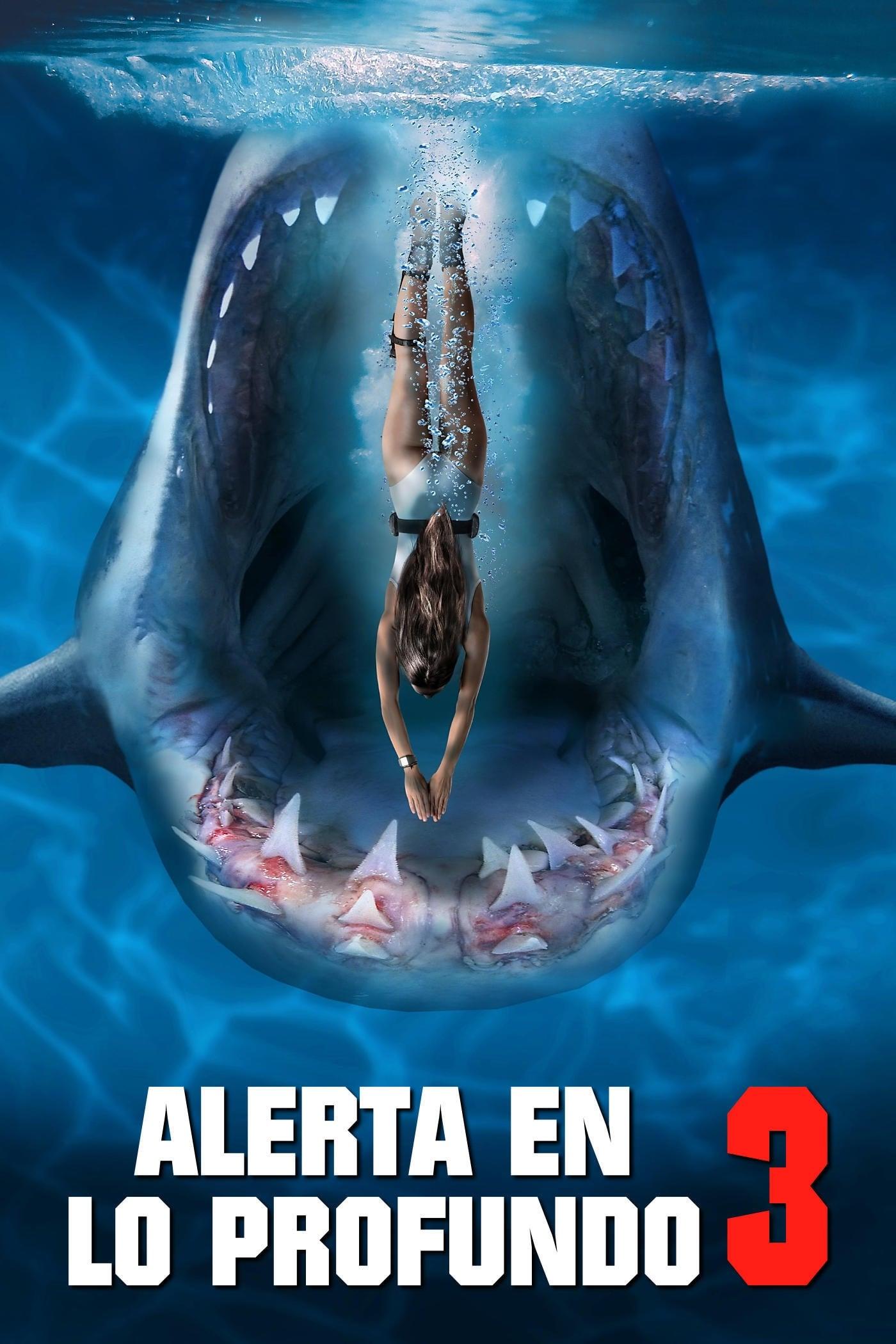 Deep Blue Sea 3 en Megadede