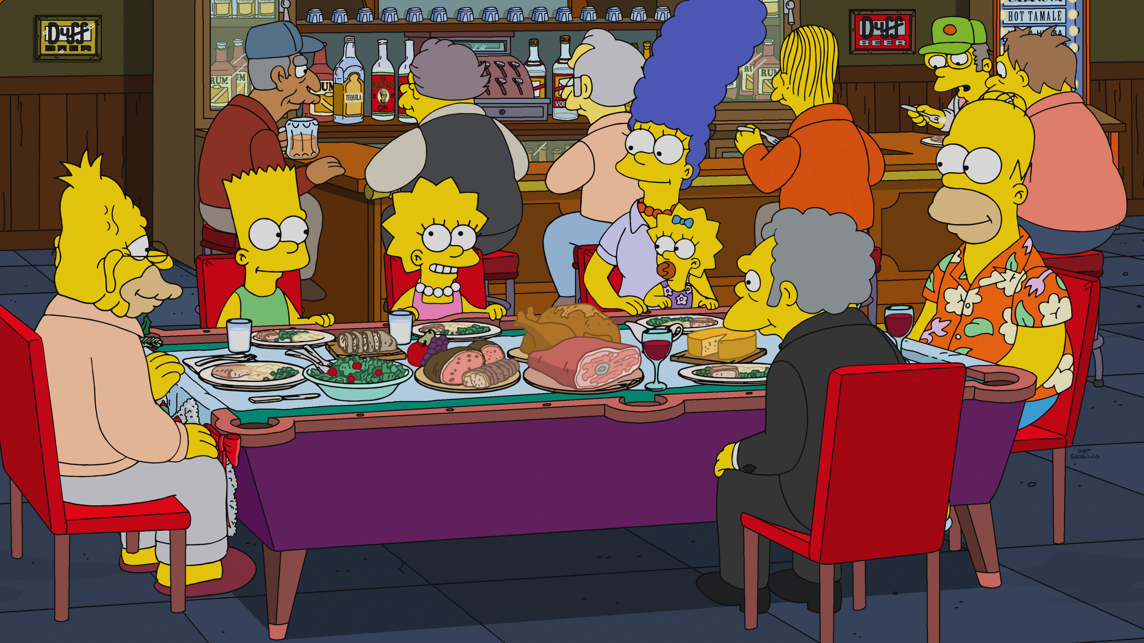 The Simpsons Season 30 :Episode 10  'Tis the 30th Season