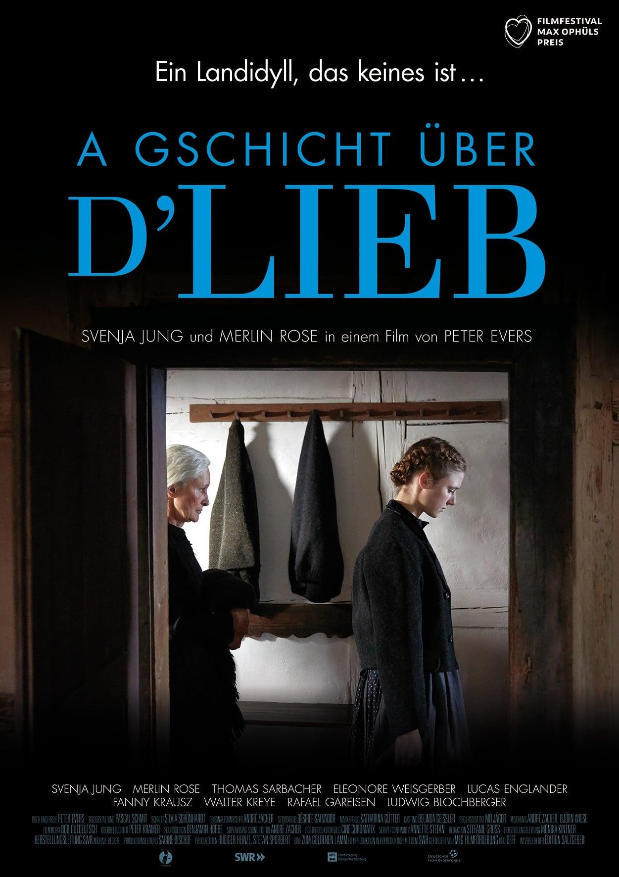 watch A Gschicht über d'Lieb 2019 online free