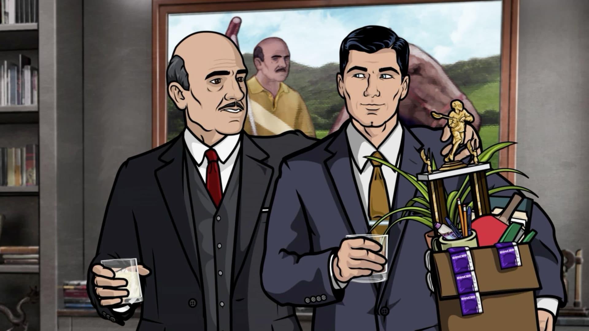 Archer Season 1 :Episode 9  Job Offer