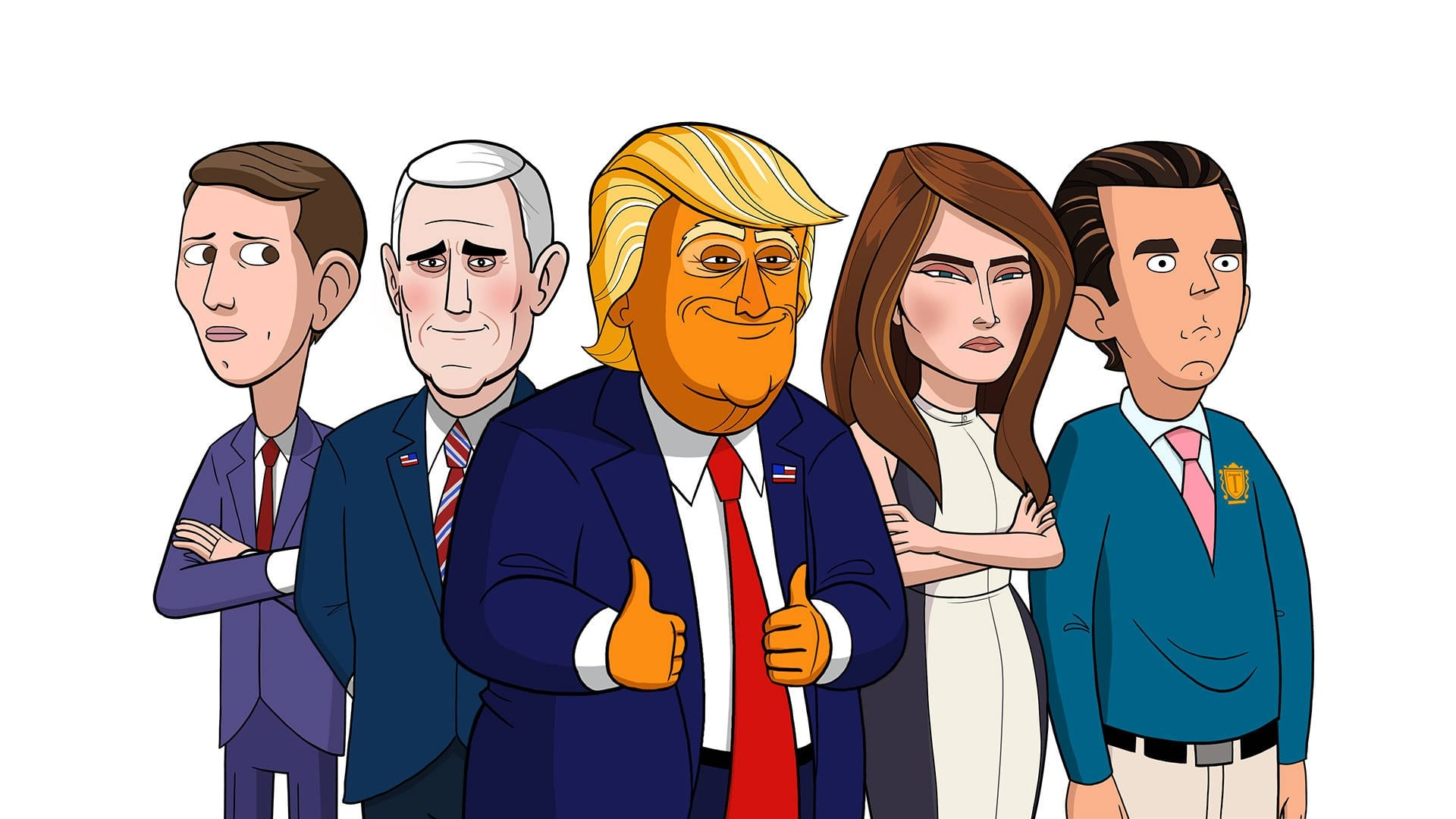 our cartoon president tv series 2018 backdrops � the