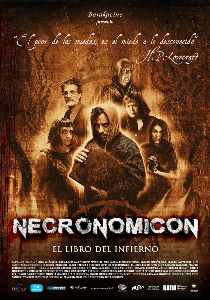 Ver Necronomicon ? The Book of Hell Online HD Español (2015)
