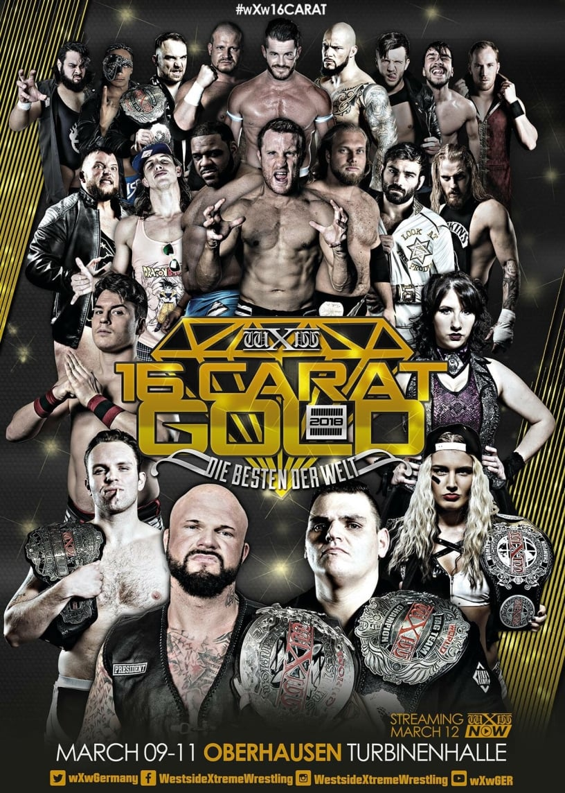 Ver wXw 16 Carat Gold 2018 Night 3 Online HD Español ()