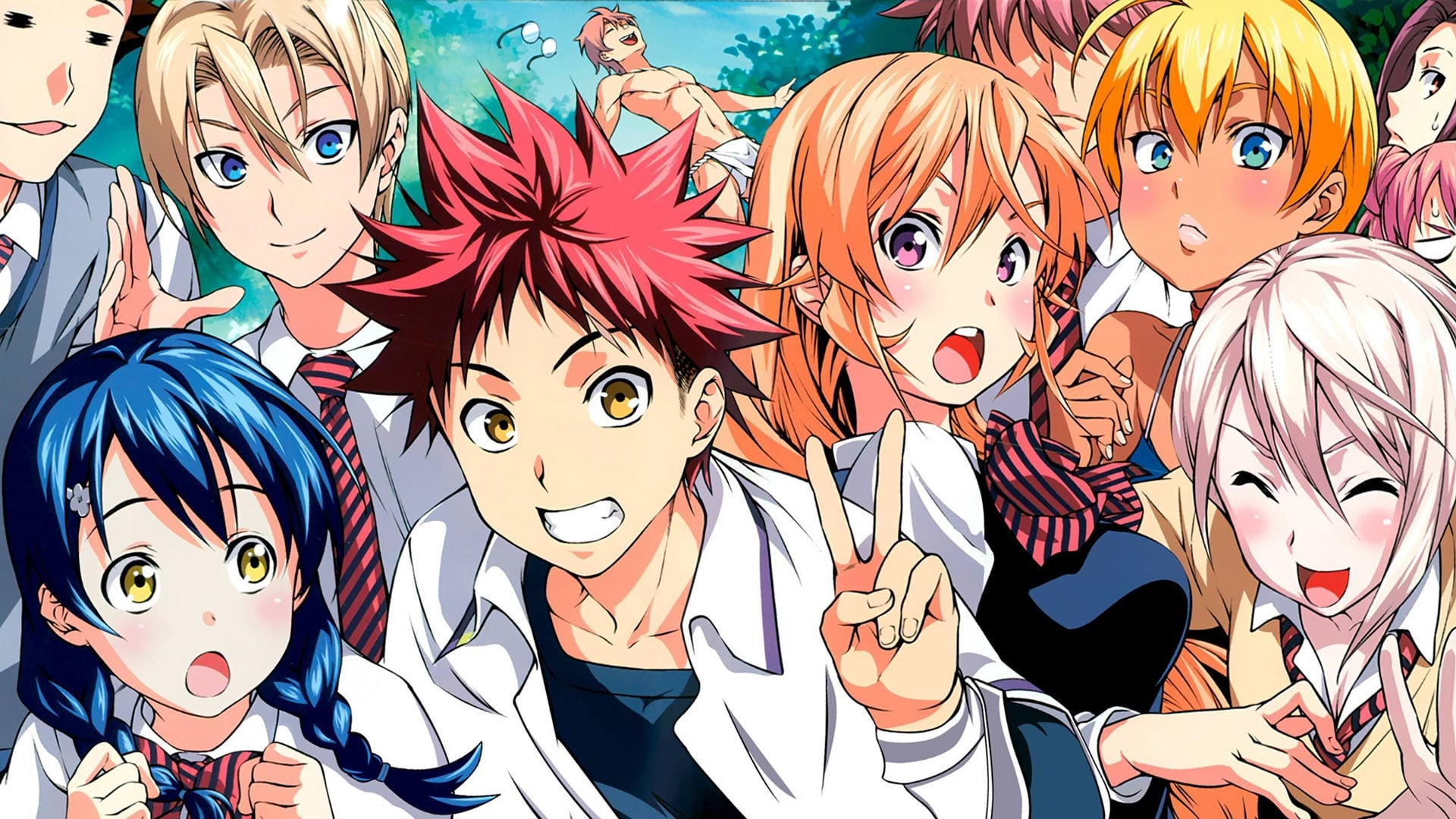 Food Wars! Shokugeki no Soma - The Second Plate
