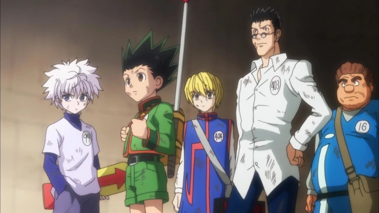 Hunter x Hunter Season 1 :Episode 12  Last x Test Of x Resolve!