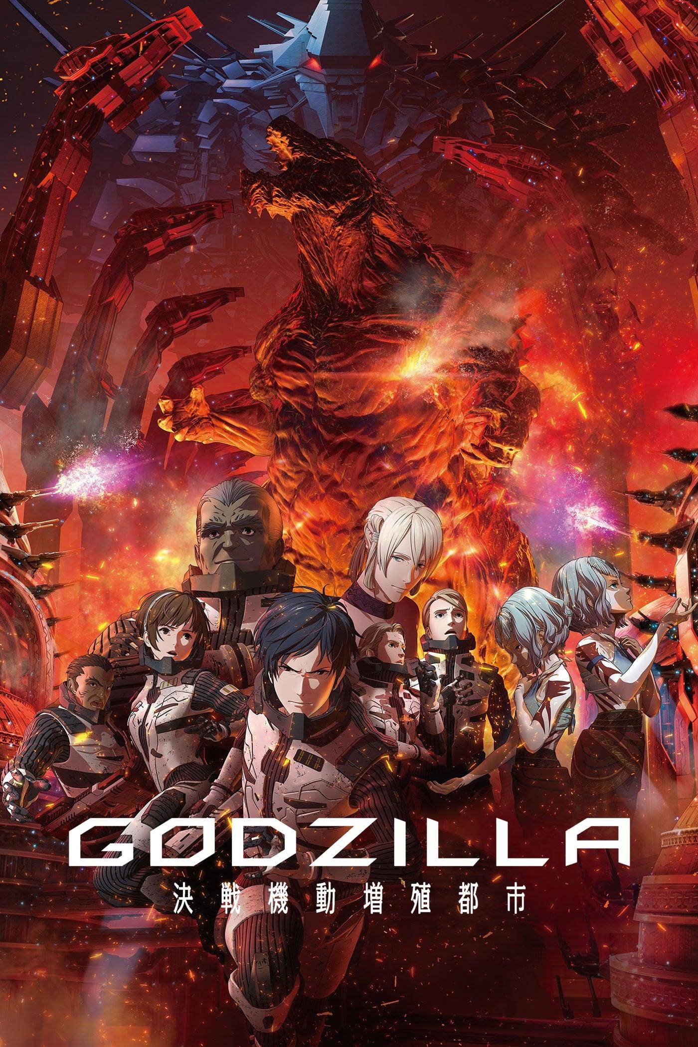 Godzilla: Thành Phố Chiến - Godzilla: City on the Edge of Battle (2018)