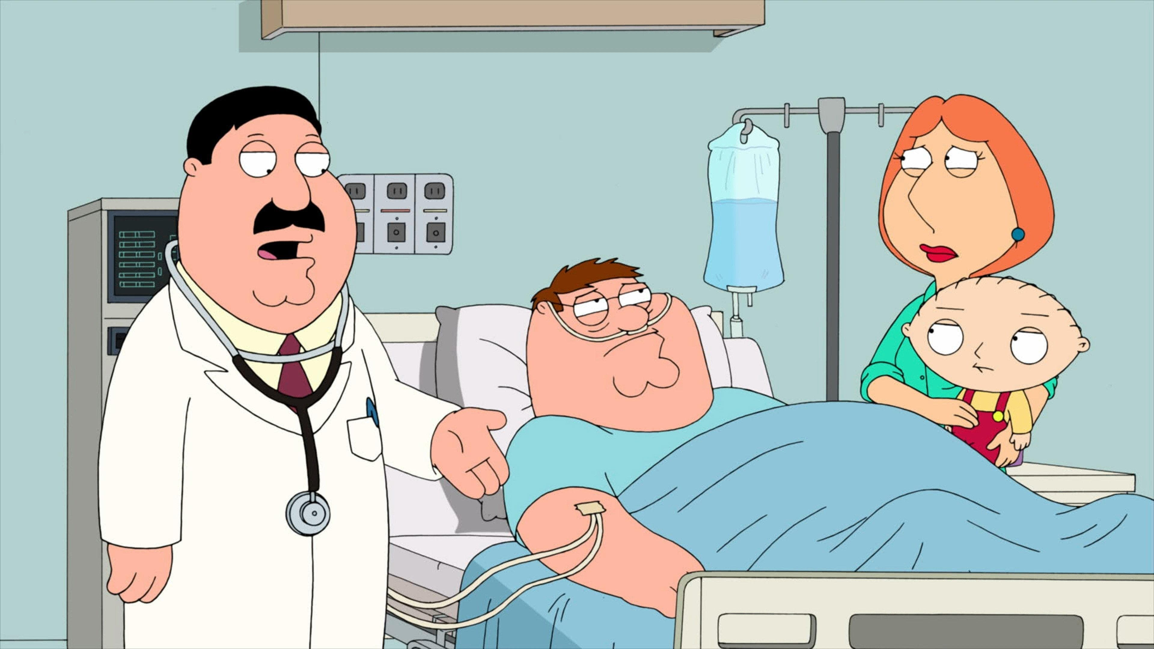 Family Guy Season 9 :Episode 8  New Kidney in Town