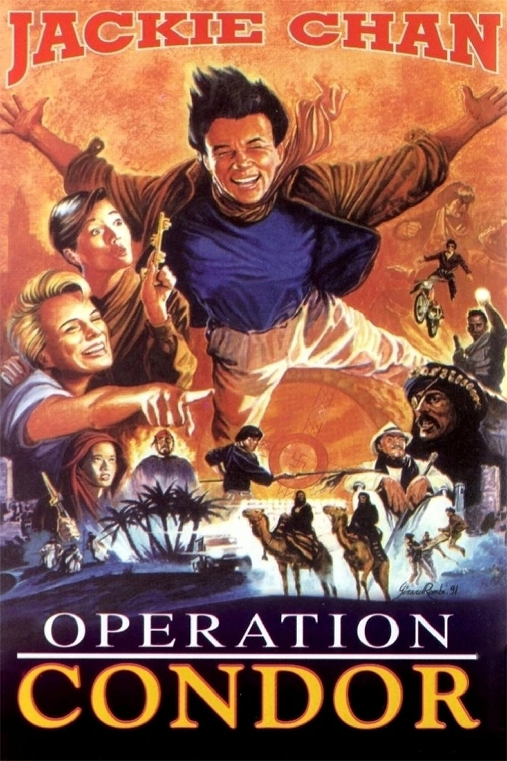 Operation Condor on FREECABLE TV