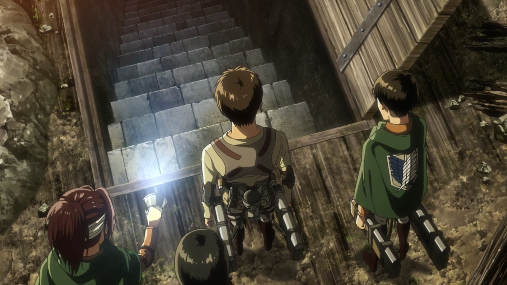 Attack on Titan Season 3 :Episode 19  The Basement