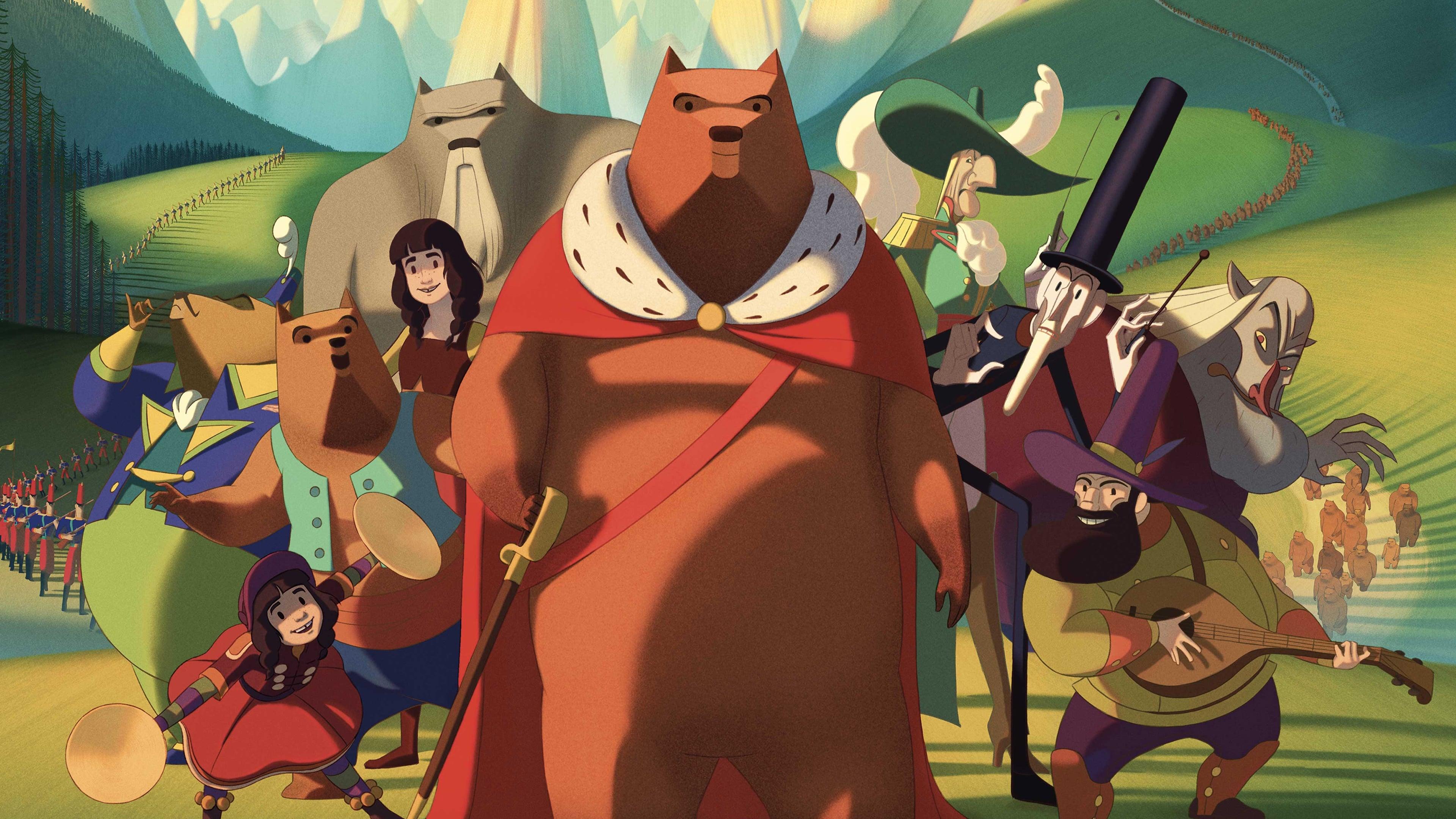 VER La famosa invasión de los osos en Sicilia (2019) pelicula completa en español latino HD