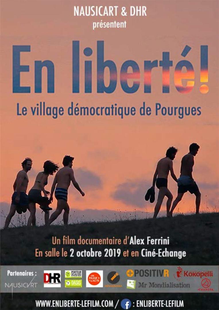En liberté ! Le village démocratique de Pourgues streaming sur zone telechargement