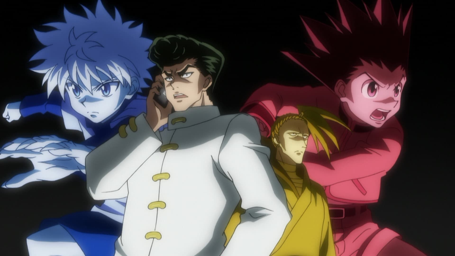 Hunter x Hunter Season 2 :Episode 40  Power x And x Games