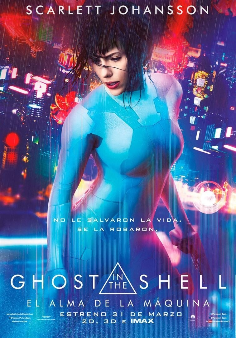 Póster Ghost in the Shell: El alma de la máquina