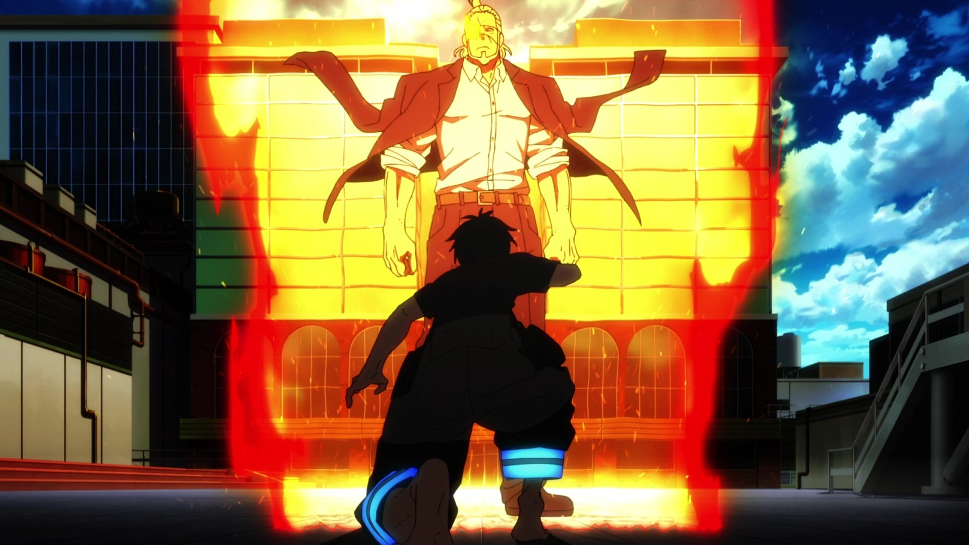 Fire Force Season 1 :Episode 24  The Burning Past
