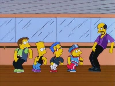 The Simpsons Season 12 :Episode 14  New Kids on the Blecch