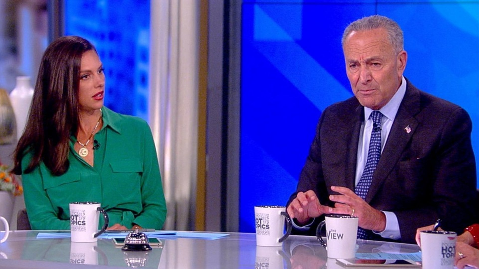 The View Season 22 :Episode 10  Chuck Schumer