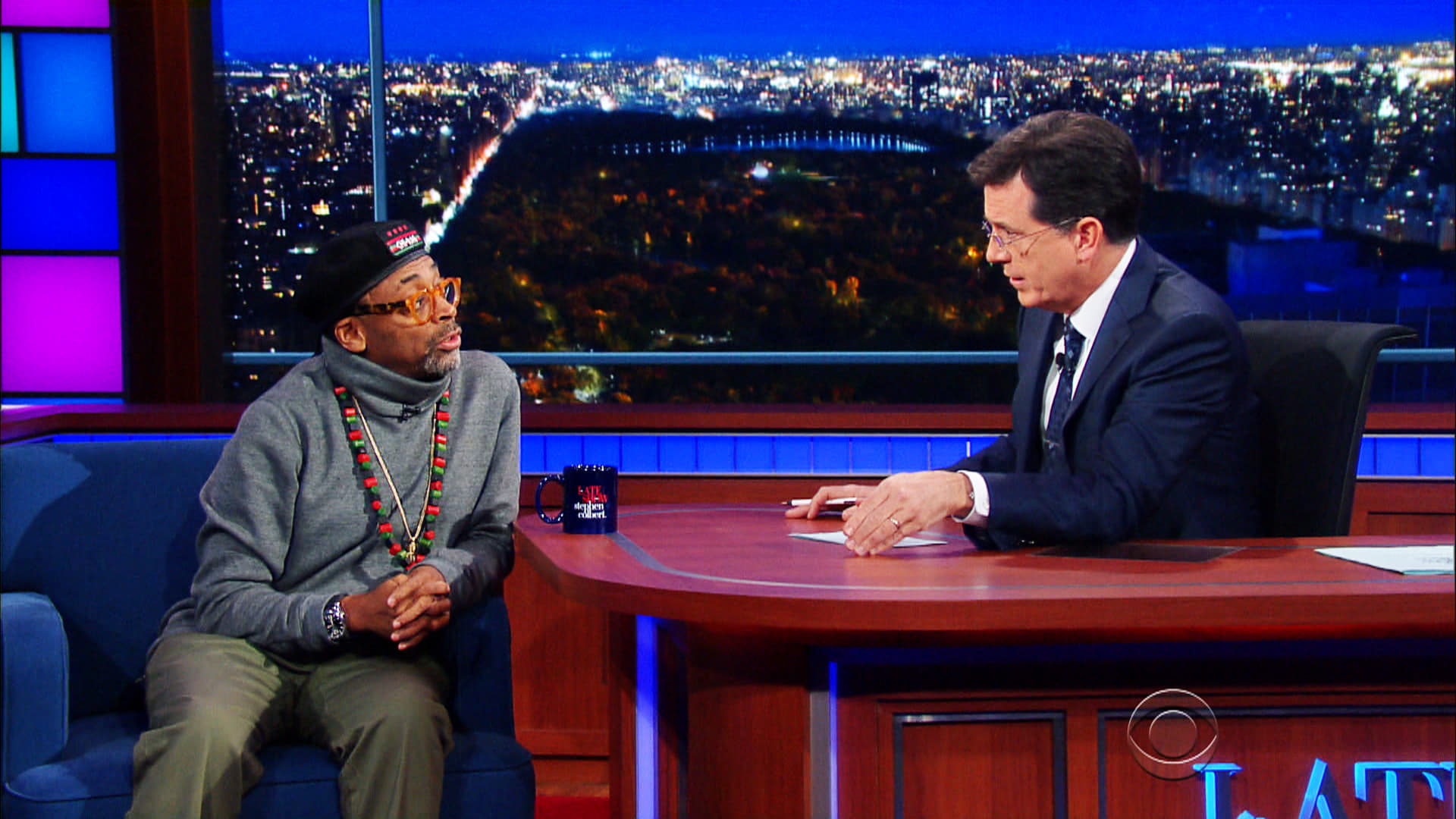 The Late Show with Stephen Colbert Season 1 :Episode 51  Spike Lee, Andy Cohen, Carly Simon
