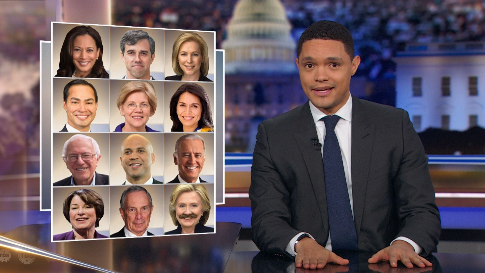 The Daily Show with Trevor Noah Season 24 :Episode 57  Danai Gurira